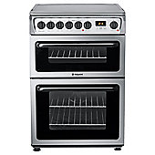 Hotpoint Hae60X Stainless Steel Ceramic Dbl Oven Electric Cooker