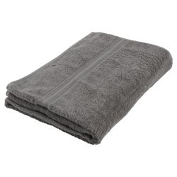 Tesco Bath Sheet Grey