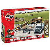 Airfix A50015 Raf Battle Of Britain Airfield 1:72 Scale Military Diorama Gift Set