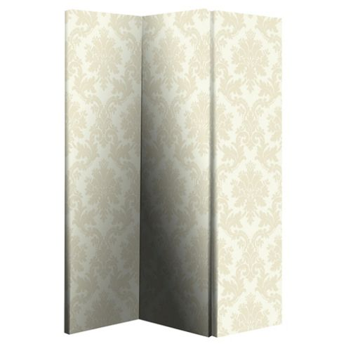 Cream Damask Screen