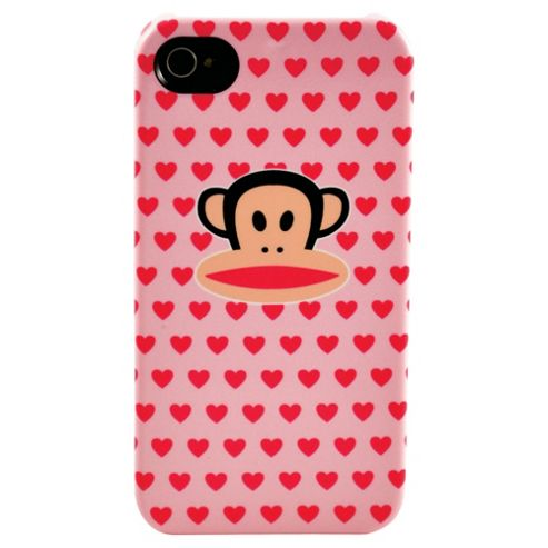 Paul Frank Deflector Case for Apple iPhone 4/4S - Multi Hearts Julius