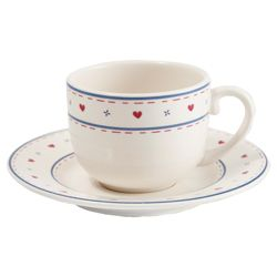 Tesco Haven Teacup and Saucer