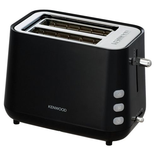 Kenwood TTP106 2 Slice Glacier Black Toaster