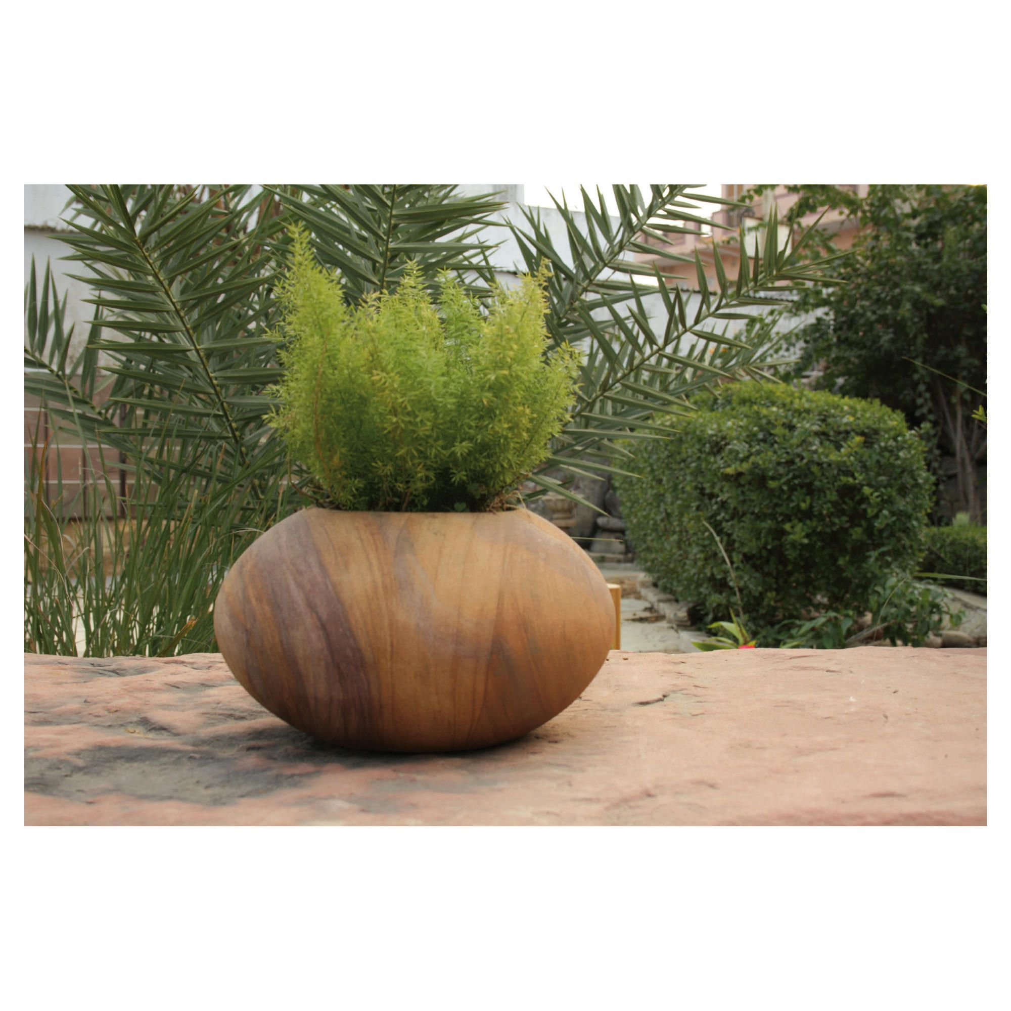 Apus Rainbow Stone Planter 60cm at Tescos Direct