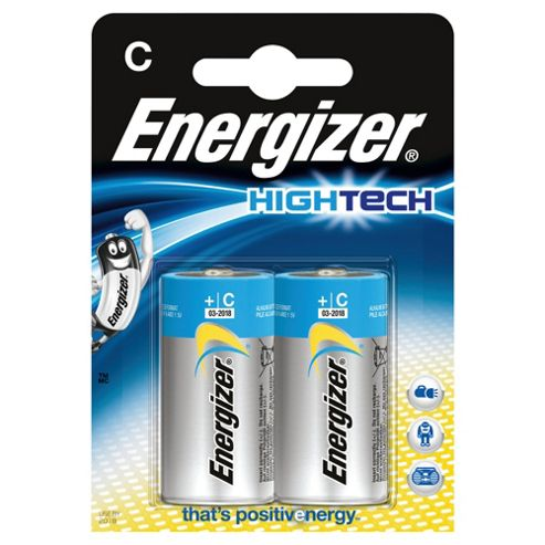 Intel Energizer Hightech Batteries White and Blue