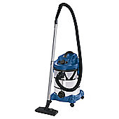 Einhell 1500W, 30L Wet and Dry Carpet Cleaner with Power Tool Socket