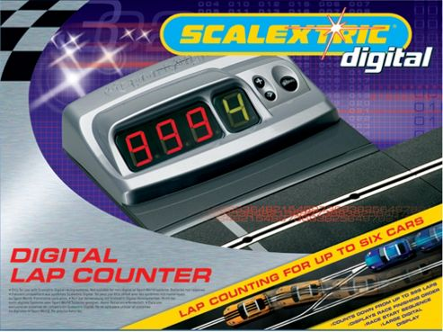 Scalextric Digital C7036 Lane Change Straight 1:32 Scale Accessory