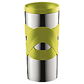 Bodum 0.35L Stainless Steel Travel Mug, Lime