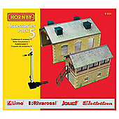 Hornby R8231 Building Extension Pack 5 00 Gauge Track Accessory