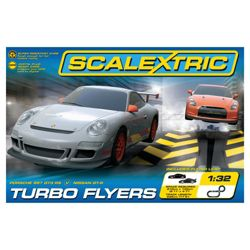 Scalextric C1278 Turbo Flyers 1:32 Scale Race Set