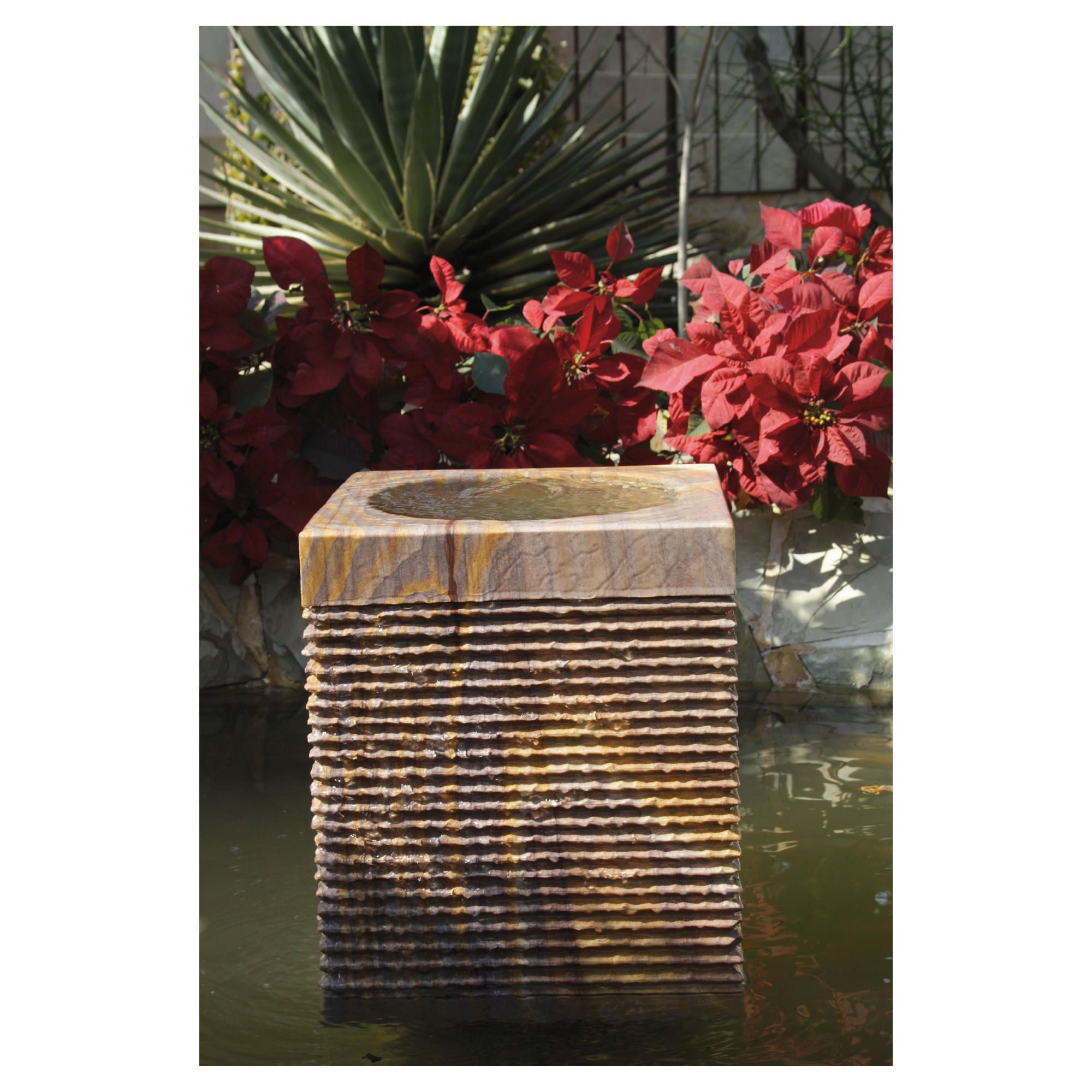 Caelum Rainbow Water Feature 40cm at Tesco Direct