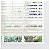 Wood Venetian Blind Cream 90cm 50mm Slats