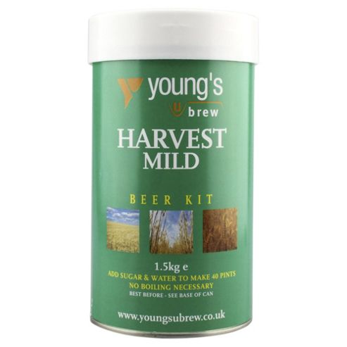 Youngs Harvest Mild Beer Kit, 40 pints