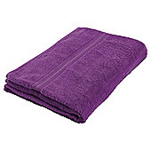 Tesco Hand Towel Purple