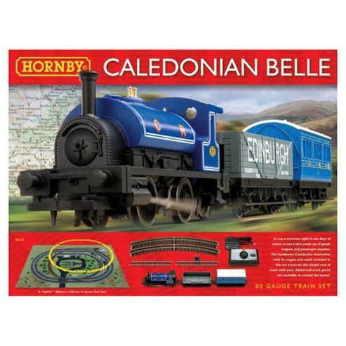 Hornby R1151 Caledonian Belle 00 Gauge Electric Train Set