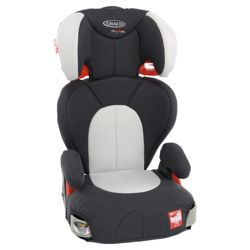 Graco Logico L Car Seat, Group 2-3, Charcoal