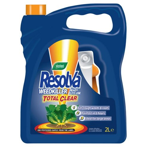 Resolva Total Clear Weedkiller 2L