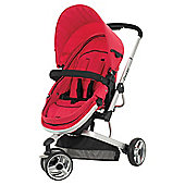 Obaby Chase 3 Wheel Pramette, Red