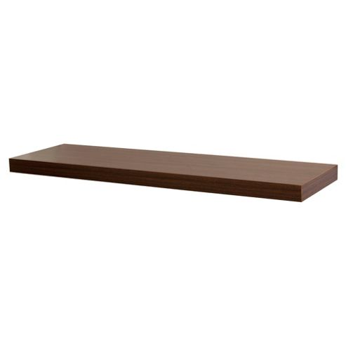 Walnut Floating Shelf 80cm