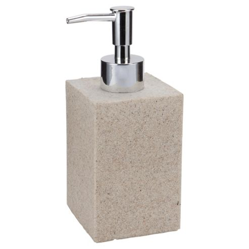 Tesco Home Stone Effect Soap Dispenser