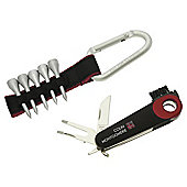 Colin Montgomerie Golf Multi Tool & Tee Holder Set