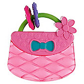 Bright Starts Pretty In Pink Carry & Teethe Purse