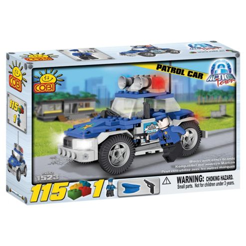 Cobi Action Town 115 Piece Patrol Car