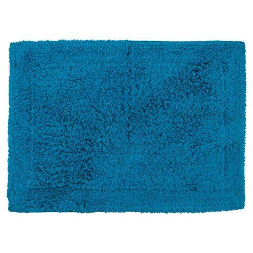 Tesco Bath Mat Turquoise