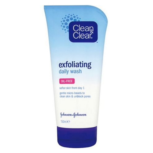 Johnson & Johnson Clean & Clear Exfoliating Daily Wash 150ml