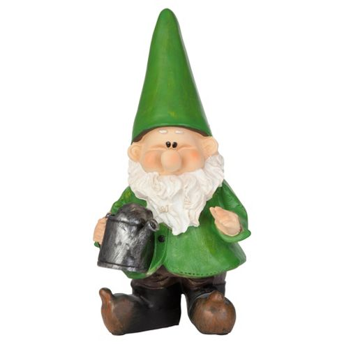 Woodland Wilf Waters the Plants Gnome