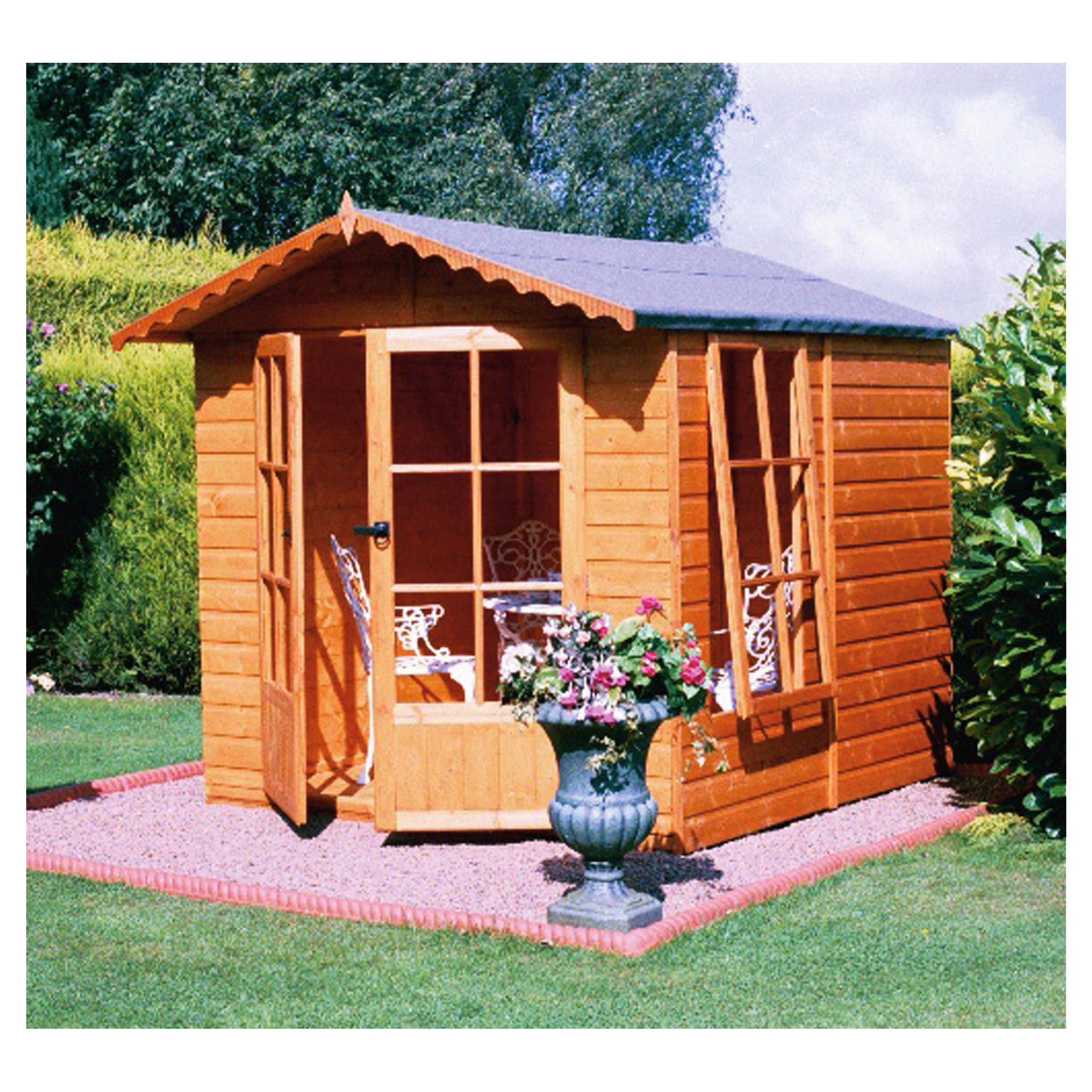 Finewood Buckingham 7x7 Summerhouse with Installation at Tesco Direct