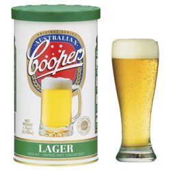 Coopers Lager DIY Beer Kit