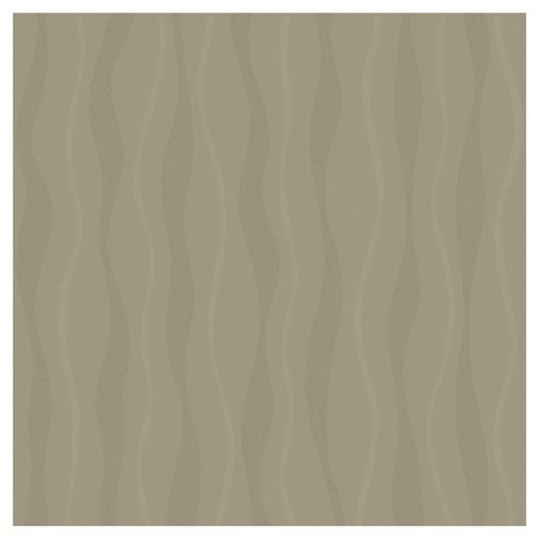 Arthouse Wave Chocolate Wallpaper