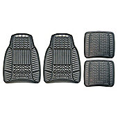 Michelin All-Weather Car Mats, 4 Set (Rubber)