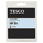 Tesco H301 Colour Ink Printer Cartridge (compatible with printers using HP301 cartridges)