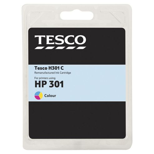 Tesco H301 Printer Ink Cartridge - Tri-Colour