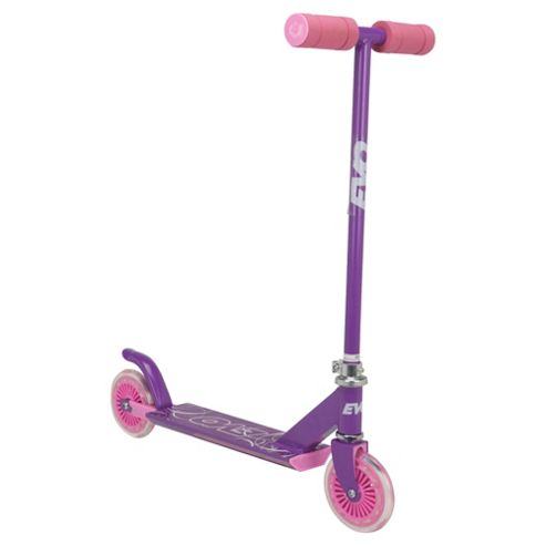 Evo 2-Wheel Inline Scooter, Pink
