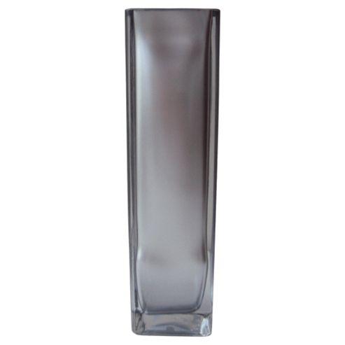 F&F Home square tank vase 21cm Silver