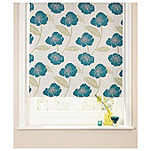Poppy Roller Blind 180x160cm Teal