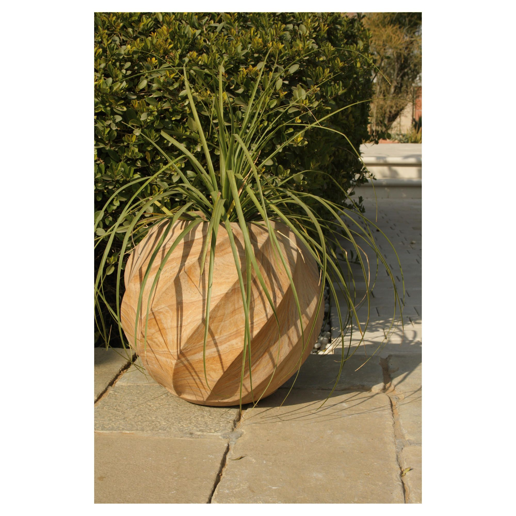 Elisa Rainbow Stone Planter 60cm at Tescos Direct