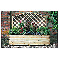 Venice Planter with Trellis