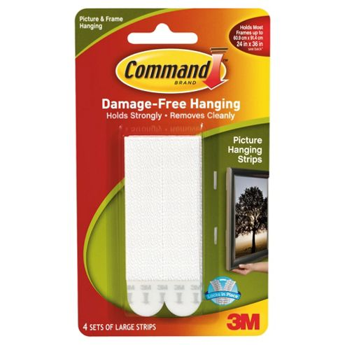 3M Command Picture Hanging Strips, Large