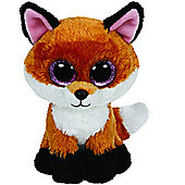 TY Beanie Boo Plush - Slick the Fox 15cm