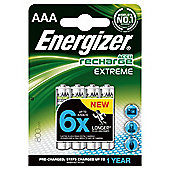 Energizer 4 Pack AAA Rechargeable batteries