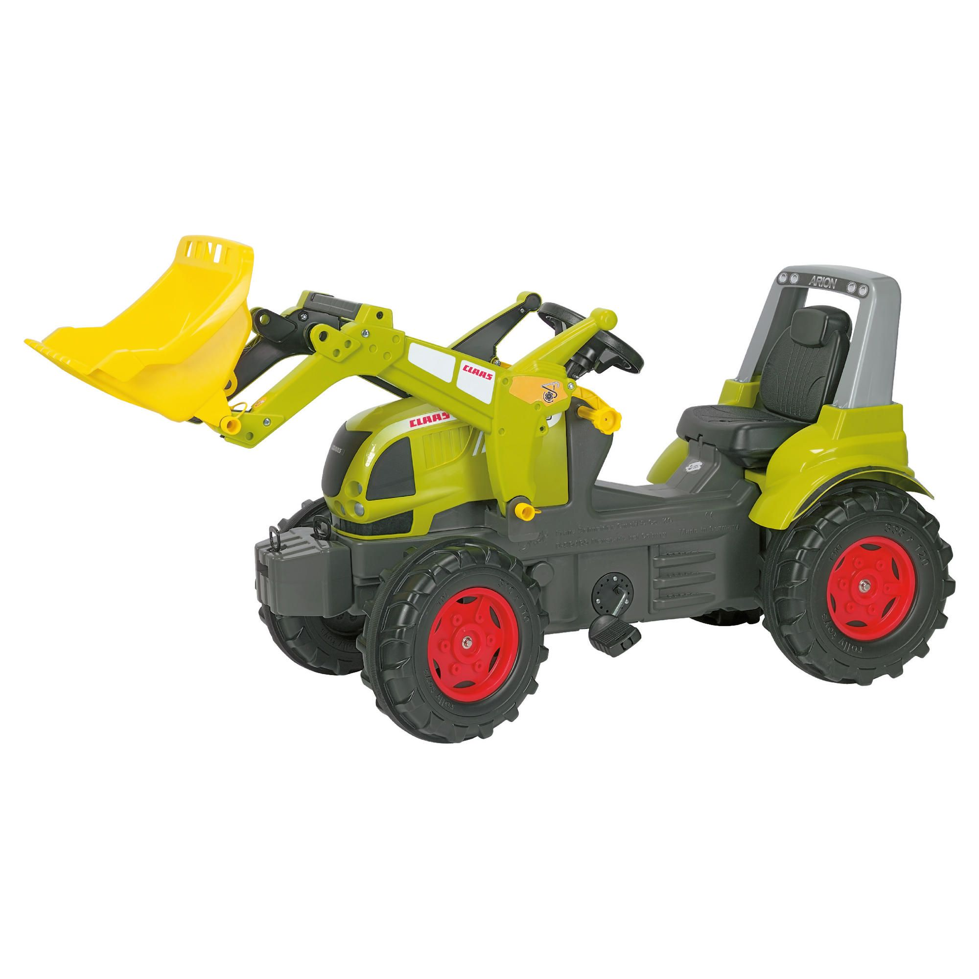 Claas Arion 640 Ride-On Tractor With Rolly Trac Loader at Tesco Direct
