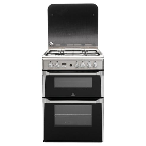Indesit ID60G2X Stainless Steel Oven Gas Cook