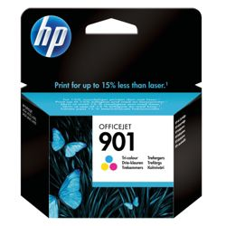 HP 901 Printer Ink Cartridge - Tri-colour (CC656AE)