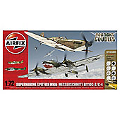 Airfix World War II Military Aircraft Dogfight Double Spitfire 1:72 Scale Model