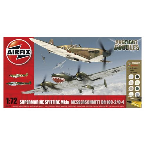 Airfix World War II Military Aircraft Dogfight Double Spitfire