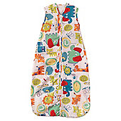 Grobag Baby Sleeping Bag, Doddle Zoo 1.0 tog 6-18 Months